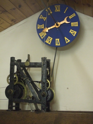 Edward Green's clock of 1755