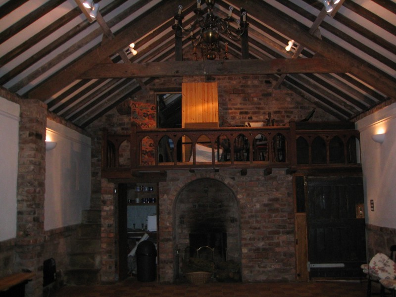 The Millenium Barn interior